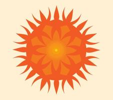 Sun-icon-vector