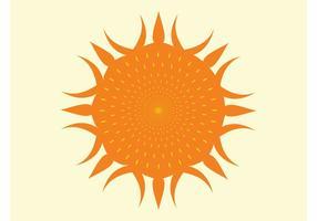 Vector de la luz del sol