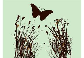 Plantas y mariposas