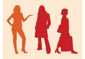 Gratis Vrouwen Silhouetten