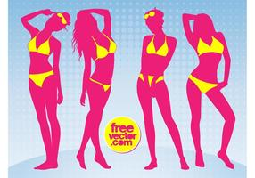 Bikini tjejer
