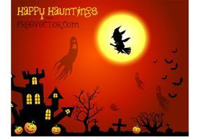 Vector de Halloween gratis