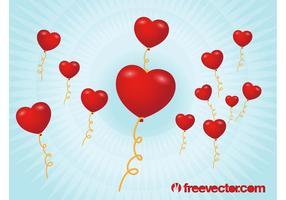 Globos de San Valentín