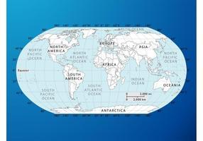 Gráficos do mapa mundial