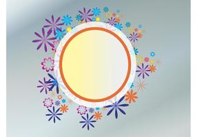 Floral Circle Design