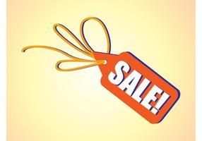 Sale-label-vector