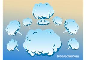 Clouds-vectors