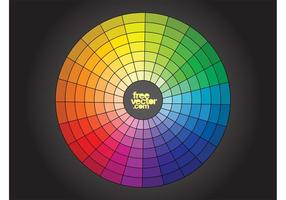 Free Color Wheel Vektor