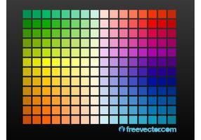Grade de cores
