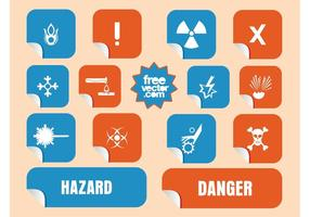Danger Stickers