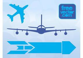 Ícones de aeronave