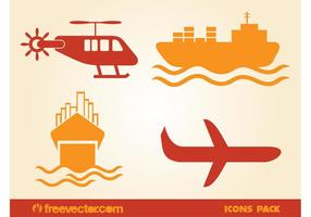 Aerial-and-water-transport