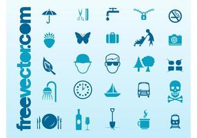 Kostenlose Icons Vector Collection
