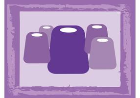 Rounded Shapes Vector