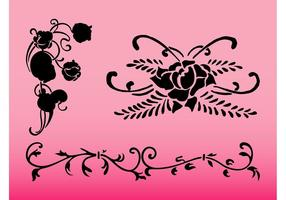 Flower Swirls Designs