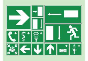 Health And Hazard Icons