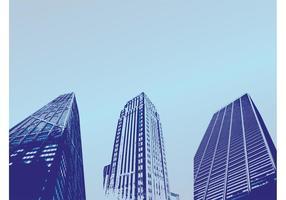 Urban Buildings Vector