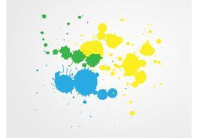 Éclaboussures multicolores