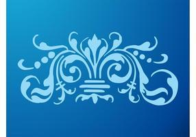 Flor azul real