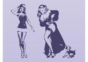 Sexy Pinup Girls