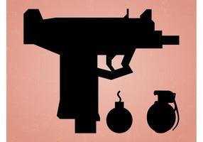 Armas Silueta Gráficos