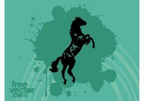Paard Vector
