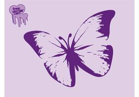 Lila fjäril