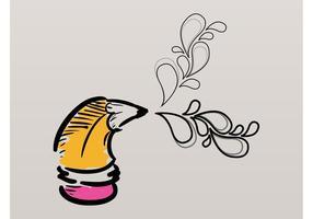 Doodles au crayon
