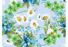 Blumen Vektor Rahmen