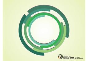 Cercle de vecteur