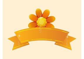 Flower-vector-banner