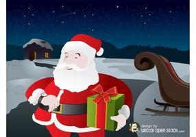 Santa Vector Graphics
