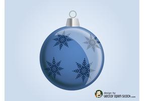 Boule de Noël vectorielle