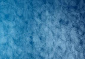 Blauer Bokeh-Vektor