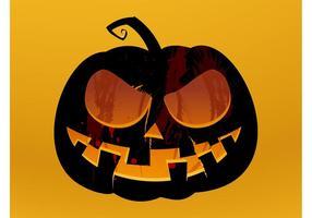Vecteur de lanterne de Halloween