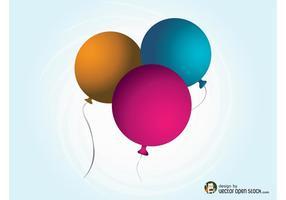 Vektor-Ballons