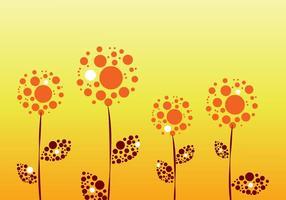 Vecteur fleurs graphiques