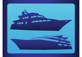 Yachten Vektor
