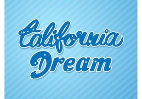 California Dream Vector