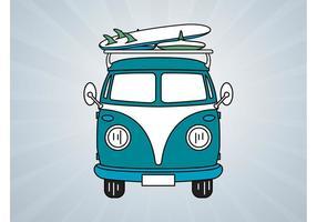 Volkswagen Bus Vector