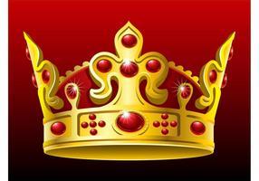 Vector-golden-crown