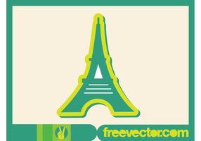 Eiffeltornet Ikon