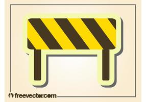 Roadblock Vector