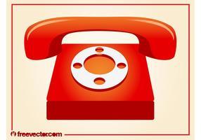 Vecteur téléphonique