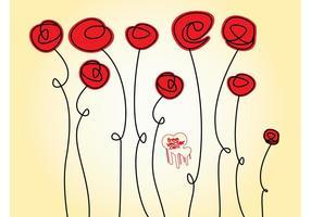 Rose Doodles
