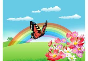 Summer-rainbow-vector
