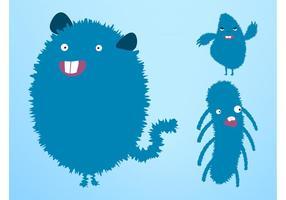 Happy-vector-monsters