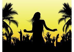 Beach Dance Vector