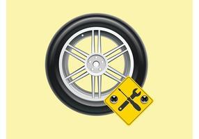 Reparación de coches Vector