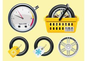 Tires Vectors